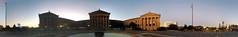 Philadelphia Museum of Art Panorama (Andrew Aliferis) Tags: philadelphia pa pennsylvania museum art photosynth panorama sunset andrew andy aga aliferis iphone