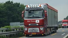 NL - Bol Trans Renault Range T Highsleeper (BonsaiTruck) Tags: boltrans renault range highsleeper lkw lastwagen lastzug truck trucks lorry lorries camion camione