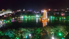 Sun-Moon Towers, Kweilin City (James Tung) Tags: kweilin guangxi sunmoontowers china 中國 桂林 廣西 日月塔 金銀塔 杉湖公園
