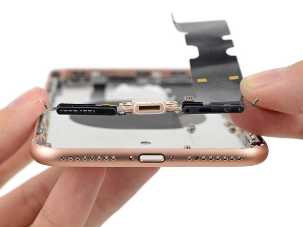 蘋果iPhone 8 Plus拆解報告:玻璃背板無法單獨更換