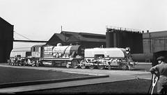 Queensland Railways (Australia) - QR 4-8-2+2-8-4 Beyer Garratt type steam locomotive Nr. 1002 (Beyer Peacock Locomotive Works, Manchester-Gorton 7342 / 1950) (HISTORICAL RAILWAY IMAGES) Tags: bp beyerpeacock manchester gorton steam locomotive 1950 queensland australia qr garratt