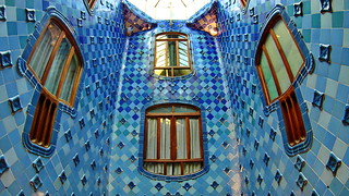 A. Gaudí's Windows and tiles