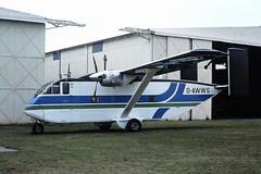 G-AWWS Short SC7 Skyvan Vernair CVT 31-03-79 (cvtperson) Tags: gawws short skyvan vernair coventry cvt egbe