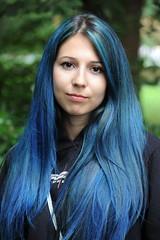 Redhead Days 2017 (Mary Berkhout) Tags: maryberkhout roodharigendag2017 redheaddays breda valkenbergpark girl meisje portret portrait bluehair blauwhaar