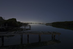 Kororoit Creek (Ranga 1) Tags: australia australian australianlandscape victoria melbourne westernsuburbs nocturnal nightphotography night nightexposure longexposure lonely loneliness still stillness creek kororoitcreek anglingclubs urban moonlight jetty pier williamstownnorth williamstown grayreserveroad nopeople canon canoneos5dmarkiii ef1740mmf4lusm davidyoung explore
