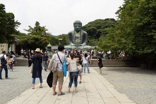 鎌倉大仏 - Great Buddha of Kamakura