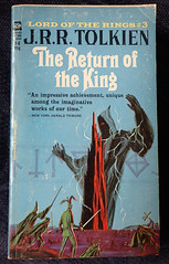 The Lord of the Rings 3 - Return of the King (Gwydion M. Williams) Tags: books bookcovers british usa acebooks tolkien lordoftherings sauron sauronsfall thereturnoftheking