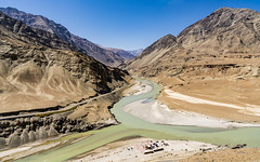 "Ladakh - India's ""Little Tibet"" (JohnReesPhoto) Tags: asia asialoc category daytime himalayas india indusriver indusvalley jammuandkashmir ladakh littletibet mountains naturallandscape places rockformation seasontime summertime timeday touristdestination travelphotography"