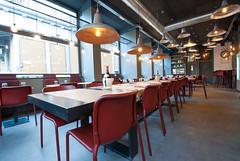 _DSC2046 (fdpdesign) Tags: pizzamaria pizzeria genova viacecchi foce italia italy design nikon d800 d200 furniture shopdesign industrial lampade arredo arredamento legno ferro abete tavoli sedie locali