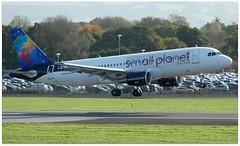(Riik@mctr) Tags: manchester airport egcc lyonl airplane small planet airlines airbus a320 msn 4489 ex 5aonl eionl