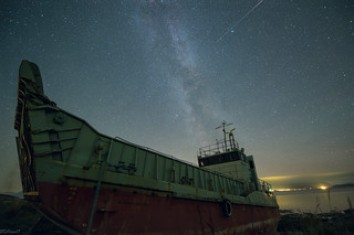 Milkyway and the ship