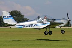 G-CEDX (GH@BHD) Tags: gcedx evektor evektoraerotechnik ev97 eurostar teameurostar microlight laa laarally laarally2017 sywellairfield sywell aircraft aviation