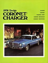 1976 Dodge Coronet Sedan (aldenjewell) Tags: 1976 dodge coronet sedan canadian brochure