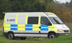 KM02 ZSU (Blues And Twos) Tags: northamptonshire police safer roads team constabulary van vauxhall movano anpr automatic number plate recognition