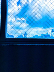 (takashi ogino) Tags: blue color digital ipod ipodtouch window cityscape