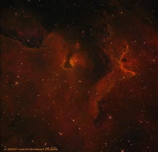 IC 1848/1871 inside the Soul Nebula