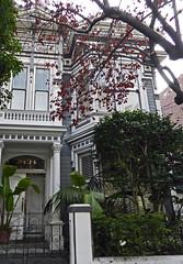 Calle Lombard Street casa victoriana San Francisco California EEUU 15 (Rafael Gomez - http://micamara.es) Tags: calle lombard street casa victoriana san francisco california eeuu