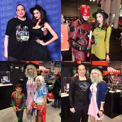NYCC 2017 - LeeAnna Vamp 10-6-17 - 10-8-17 (Comic Con Culture) Tags: nycc nycc2017 newyorkcomiccon newyorkcomiccon2017 nyc newyorkcity newyork ny cosplay leeannavamp daredevil marvel netflix startrek eleven strangerthings zod generalzod dc robin harleyquinn