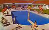 Thunderbird Hotel, Las Vegas, Nevada (Thomas Hawk) Tags: america lasvegas nevada thunderbirdhotel usa unitedstates unitedstatesofamerica vegas vintage motel pool postcard swimingpool fav10 fav25