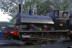 BP1827 FOXFIELD 24092017 (ROPERUNNER) Tags: foxfield cranetank beyerpeacock rsh70631942 belerpophen whinston hunslet foxfieldcolliery dubs thomashill diesel locomotive