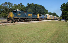 Afternoon EMD (weshendrix) Tags: csx abbeville subdivision atlanta division winder georgia ga train railfan railroad railfanning freight auto autorack tracks diesel engine locomotive vehicle emd sd50 standard cab outdoor sunshine