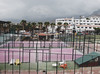 (end of the railway.) Tags: teneriffa tenerife tenniscourt clouds