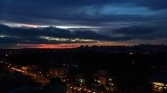 Pôr do sol (gui_arantes93) Tags: sãopaulo brazil brasil southamerica panoramaurbano cidade céu noite pôrdosol entardecer