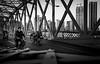 (Rob-Shanghai) Tags: mono shanghai street china smoker bicycle ironbridge people leica leicaq