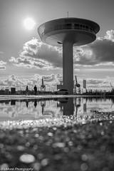 """""""Lighthouse Zero"""" (vmonk65) Tags: nikond810 nikon bw blackandwhite blackwhite hafenncity hamburgharbour hamburgerhafen haus wohnung baakenhöft architecture architektur wasser himmel einfarbig sky water"""