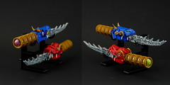The Dragon Blades (Anthony (The Secret Walrus) Wilson) Tags: dragon lego moc creation creature afol sword dagger knife
