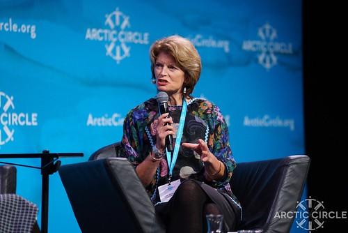 Senator Lisa Murkowski of Alaska at #ArcticCircle2017