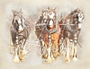 Heavy carriage (BirgittaSjostedt) Tags: horse carriage ardennes old tradinional heavy texture paint watercolor sevenstyles birgittasjostedt magicunicornverybest ie