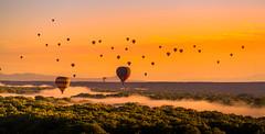Albuquerque Fiesta (photoserge.com) Tags: balloon hot air sunset fiesta albuquerque festival sun