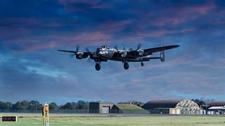 Lancaster Bomber PA474