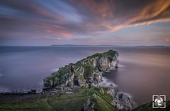 Kinbane Headland (W.G. Photography) Tags: kinbane headland sky sunrise coantrim northernireland uk longexposure landscape