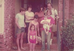 1970s bare feet and bare bellies (912greens) Tags: families 1970s folksidontknow groups siblings mothers fathers children