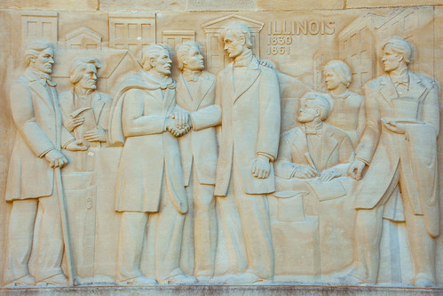 Lincoln's life in Illinois