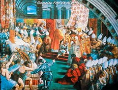 1514 ca L'incoronazione di Carlo Magno, di Raffaello (Roma ieri, Roma oggi: Raccolta Foto de Alvariis) Tags: basilicadisanpietro sanpietro spietroparticolari rioneborgo cittàdelvaticano roma rome lazio italy raccoltafotodealvariis 1514 lincoronazionedicarlomagno diraffaello