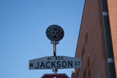 #DTPHX-20.jpg (johnroe1) Tags: warehousehistoricdistrict historicmarker streetsign dtphx