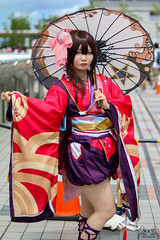 Kagura - Onmyoji (Tsuguto77) Tags: voyage japon kanto tokyo convention cosplay comicmarket