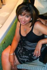 Beautiful Bekka (jemingway3) Tags: hot sexy mature married wife milf mom hotwife bekka legs minidress rack cleavage weddingring nails shared bi bisexual lez lesbian no bra braless downblouse