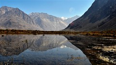 Landscape (sudarshini) Tags: ladakh lake leh nature nubravalley mountains himalayas jammukashmir india incredibleindia travel blue