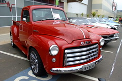 GMC Pickup - 1949 (Fernando R de A V) Tags: gmc general motors pickup 1949 caminhonete car antigo old vermelho red