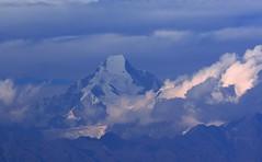 Nandakot immersed in clouds. (draskd) Tags: mtnandakot nandakot coud mountainandcloud uttarakhand pithoragarh chaukori