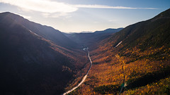View from Mount Willard, NH (gabe.mirasol) Tags: nikon 20mm nikkor d600 f18g f18 18 wideangle ultrawide landscape new hampshire fall autumn mountain mountains foliage colors england mount willard