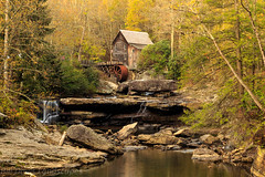 Glade Creek Mill - Babcock State Park WV (billdavislandscapes) Tags: babcockstatepark westvirginia subject structure gristmill northamerica usa