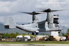 168636 / US Marines / MV-22 Osprey / PSE / TJPS Ponce Mercedita, Puerto Rico. (Hector A Rivera Valentin) Tags: marinescopra spotting spotter takeoff rico puerto ponce mercedita pse tjps marines us osprey mv22