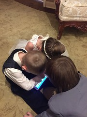"""Colton, Inde, and Paul Play on a Tablet • <a style=""""font-size:0.8em;"""" href=""""http://www.flickr.com/photos/109120354@N07/37900126866/"""" target=""""_blank"""">View on Flickr</a>"""