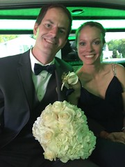 "Derek and Christie in the Limo at Emily and Joe's Wedding • <a style=""font-size:0.8em;"" href=""http://www.flickr.com/photos/109120354@N07/37900127176/"" target=""_blank"">View on Flickr</a>"