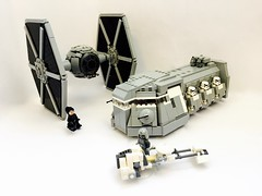 TIE Fighter (STARWARS Rebels design) (bricksfeeder) Tags: tie starwars sw rebels fighter moc building instructions